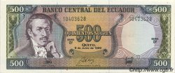 500 Sucres ÉQUATEUR  1988 P.124A SUP