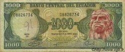 1000 Sucres ÉQUATEUR  1984 P.125a TB