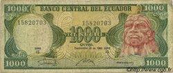 1000 Sucres ÉQUATEUR  1986 P.125a TB+
