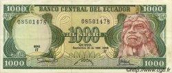 1000 Sucres ÉQUATEUR  1986 P.125a TTB