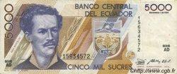 5000 Sucres ÉQUATEUR  1987 P.126a TTB