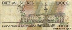 10000 Sucres ÉQUATEUR  1988 P.127a TTB