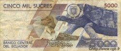 5000 Sucres ÉQUATEUR  1992 P.128a TTB