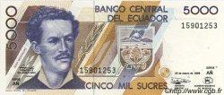 5000 Sucres ÉQUATEUR  1999 P.128c NEUF