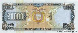 20000 Sucres ÉQUATEUR  1999 P.129c NEUF