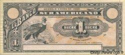 1 Sucre ÉQUATEUR  1920 PS.251r SUP