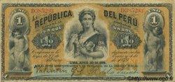 1 Sol PÉROU  1879 P.001 TTB