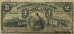 2 Soles PÉROU  1879 P.002 TB