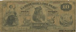 10 Soles PÉROU  1879 P.005 B