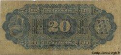 20 Soles PÉROU  1879 P.006 B