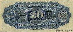 20 Soles PÉROU  1879 P.007a TTB