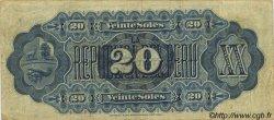 20 Soles PÉROU  1879 P.007a pr.TTB