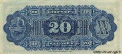 20 Soles PÉROU  1879 P.007a pr.SPL