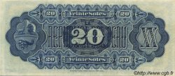 20 Soles PÉROU  1879 P.007a SPL