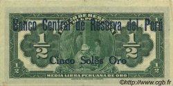 5 Soles PÉROU  1935 P.056 SUP