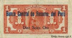 1 Libra de oro PÉROU  1935 P.061 pr.SUP