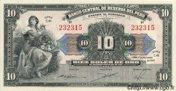 10 Soles PÉROU  1947 P.067Ac NEUF
