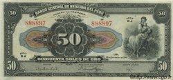 50 Soles PÉROU  1941 P.068Aa SUP+