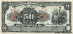 50 Soles PÉROU  1950 P.068Ac pr.NEUF