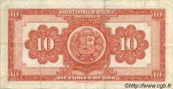 10 Soles PÉROU  1961 P.082A TTB
