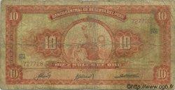 10 Soles de Oro PÉROU  1963 P.084 B