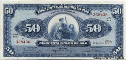50 Soles de Oro PÉROU  1965 P.089 pr.NEUF