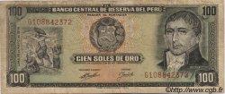 100 Soles de Oro PÉROU  1974 P.102c pr.TTB