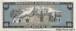 100 Soles de Oro PÉROU  1974 P.102c SPL