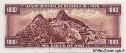 1000 Soles de Oro PÉROU  1975 P.111 NEUF