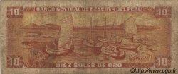 10 Soles de Oro PÉROU  1976 P.112 B+