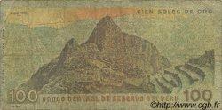 100 Soles de Oro PÉROU  1976 P.114 pr.TB