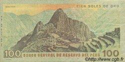 100 Soles de Oro PÉROU  1976 P.114 SUP