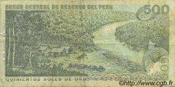 500 Soles de Oro PÉROU  1976 P.115 TTB