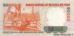 50000 Soles de Oro PÉROU  1984 P.125 SPL