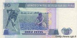 10 Intis PÉROU  1985 P.128 NEUF