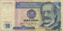 10 Intis PÉROU  1985 P.128 TB+