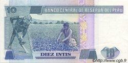 10 Intis PÉROU  1986 P.128 pr.NEUF