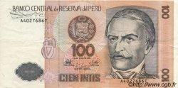 100 Intis PÉROU  1987 P.133 SUP