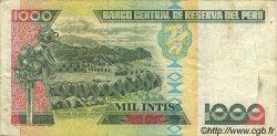 1000 Intis PÉROU  1987 P.136b TTB