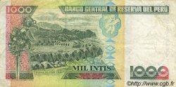 1000 Intis PÉROU  1988 P.136b TTB