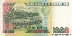 1000 Intis PÉROU  1988 P.136b SUP