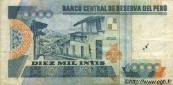 10000 Intis PÉROU  1988 P.140 B+
