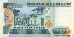 10000 Intis PÉROU  1988 P.140 SUP