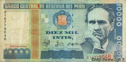 10000 Intis PÉROU  1988 P.141 TB