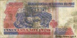 50000 Intis PÉROU  1988 P.142 TB