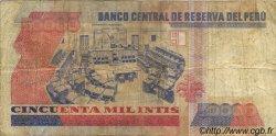 50000 Intis PÉROU  1988 P.143 TB