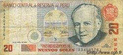 20 Nuevos Soles PÉROU  1995 P.159 TB