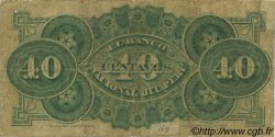 40 Centavos PÉROU  1873 PS.302 pr.TB