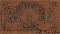 1 Sol PÉROU  1921 PS.604 TTB
