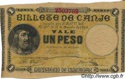 1 Peso PORTO RICO  1895 P.07b SPL